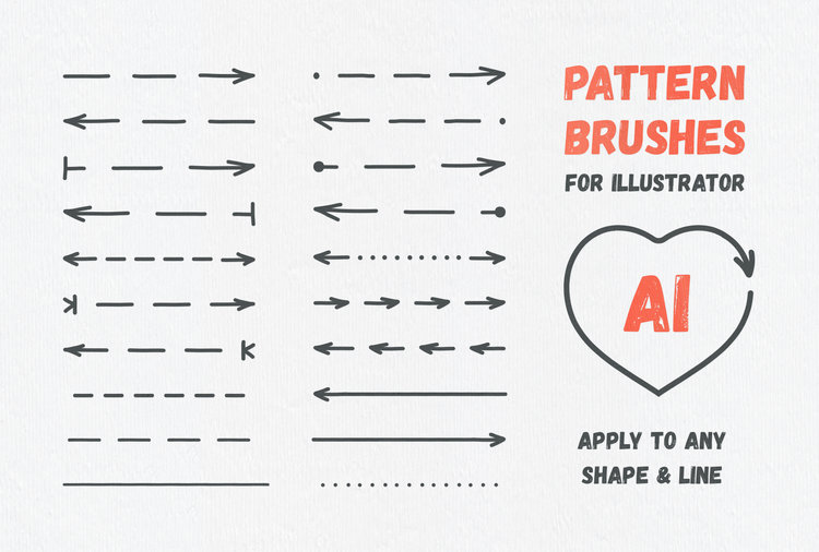 Arrow Head: Illustrator Brushes & Vector Arrows