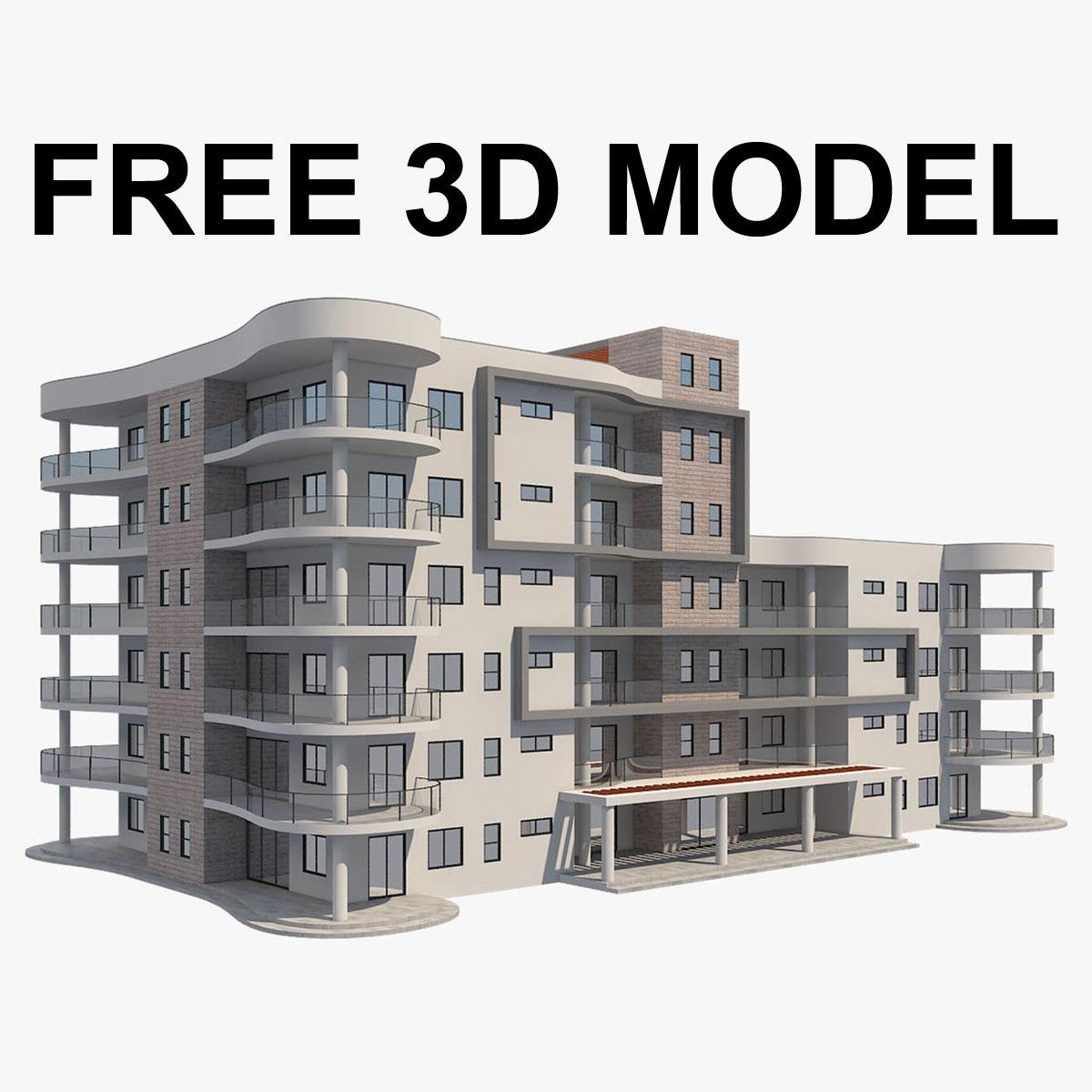 3d модель дома скачать