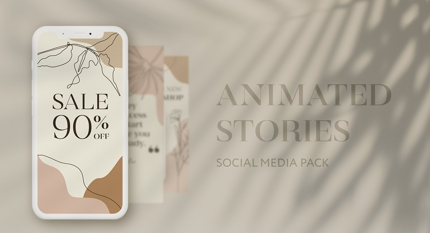 Free 5 Animated Stories template