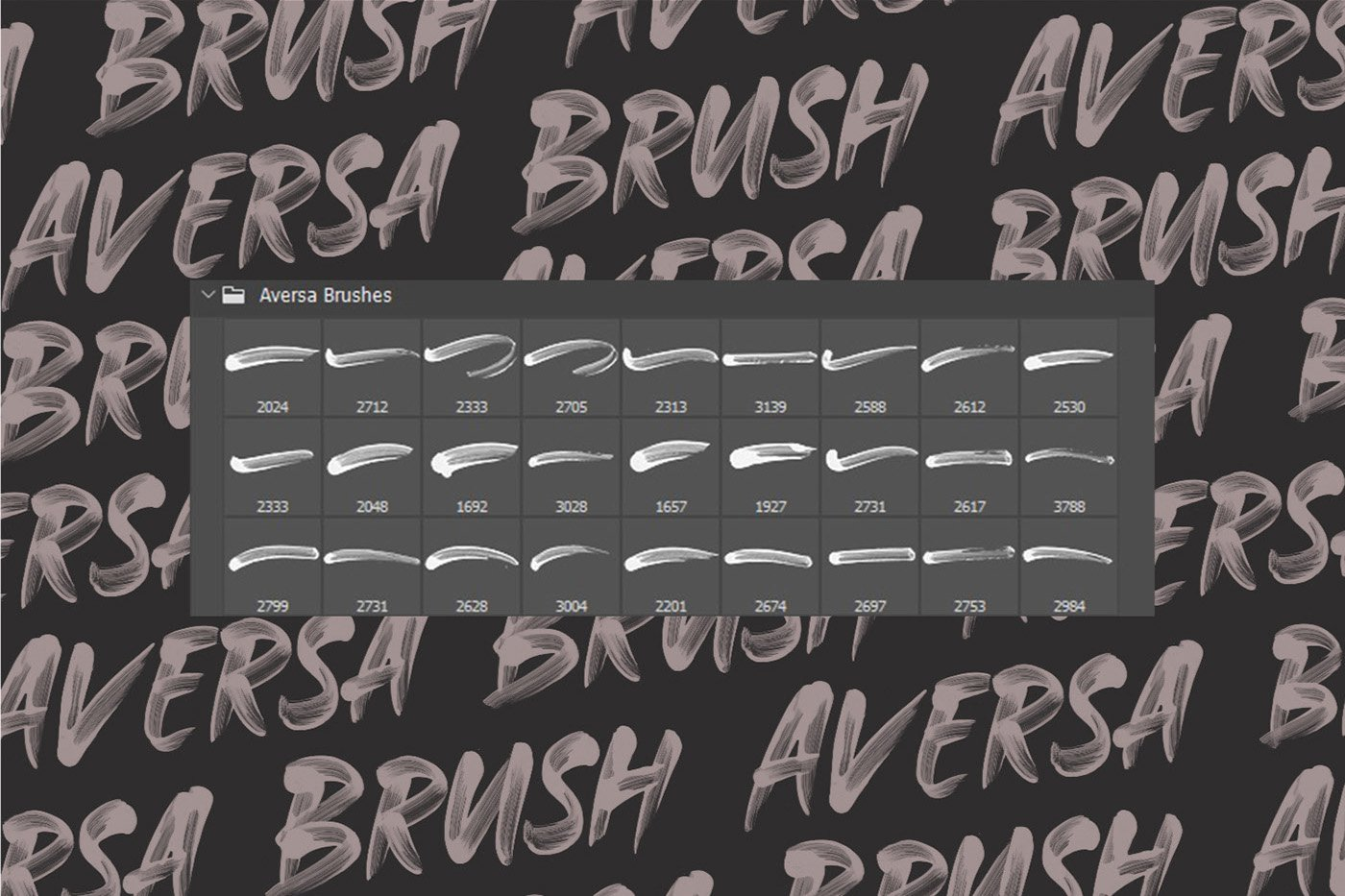 Aversa - 27 Free Photoshop Brush Strokes кисти скачать