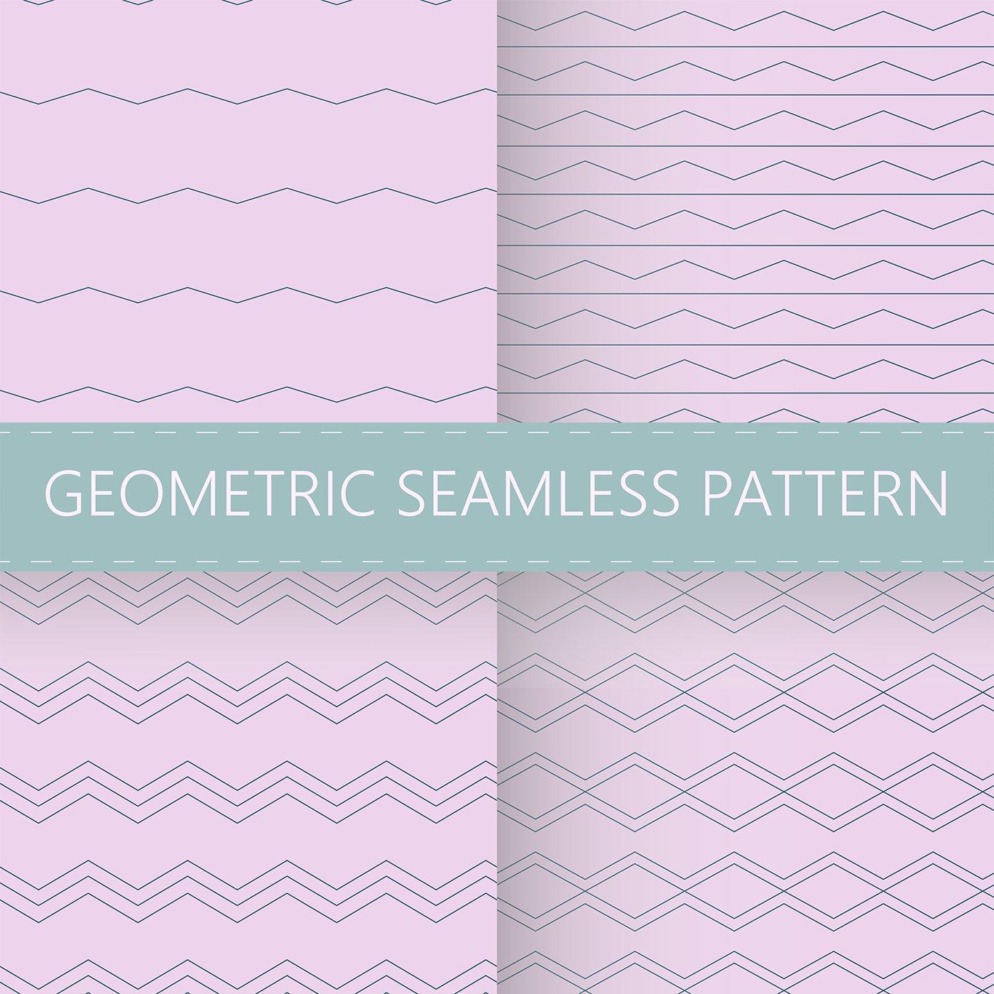 Free geometric seamless pattern ai