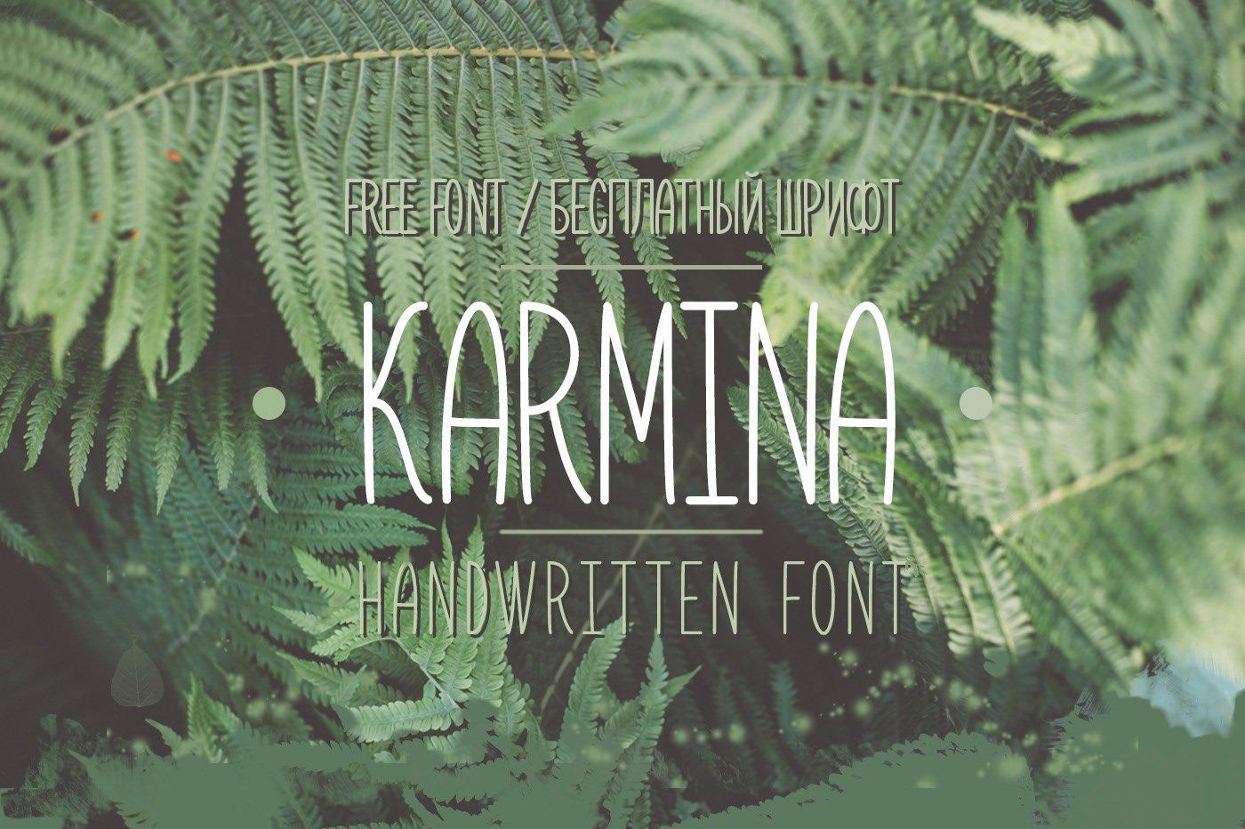 Шрифт font Karmina Bold скачать