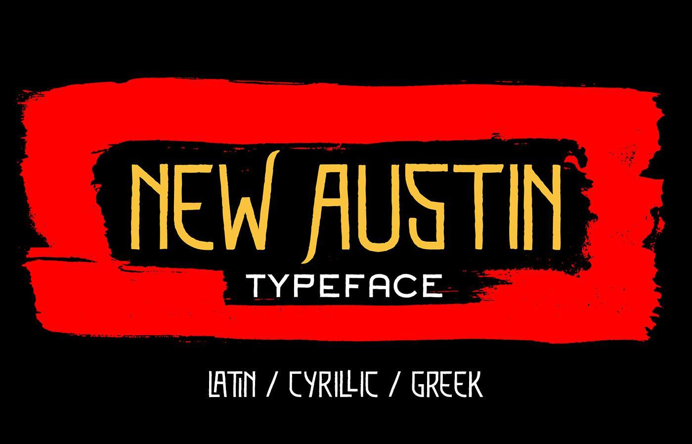Шрифт New Austin Cyrillic