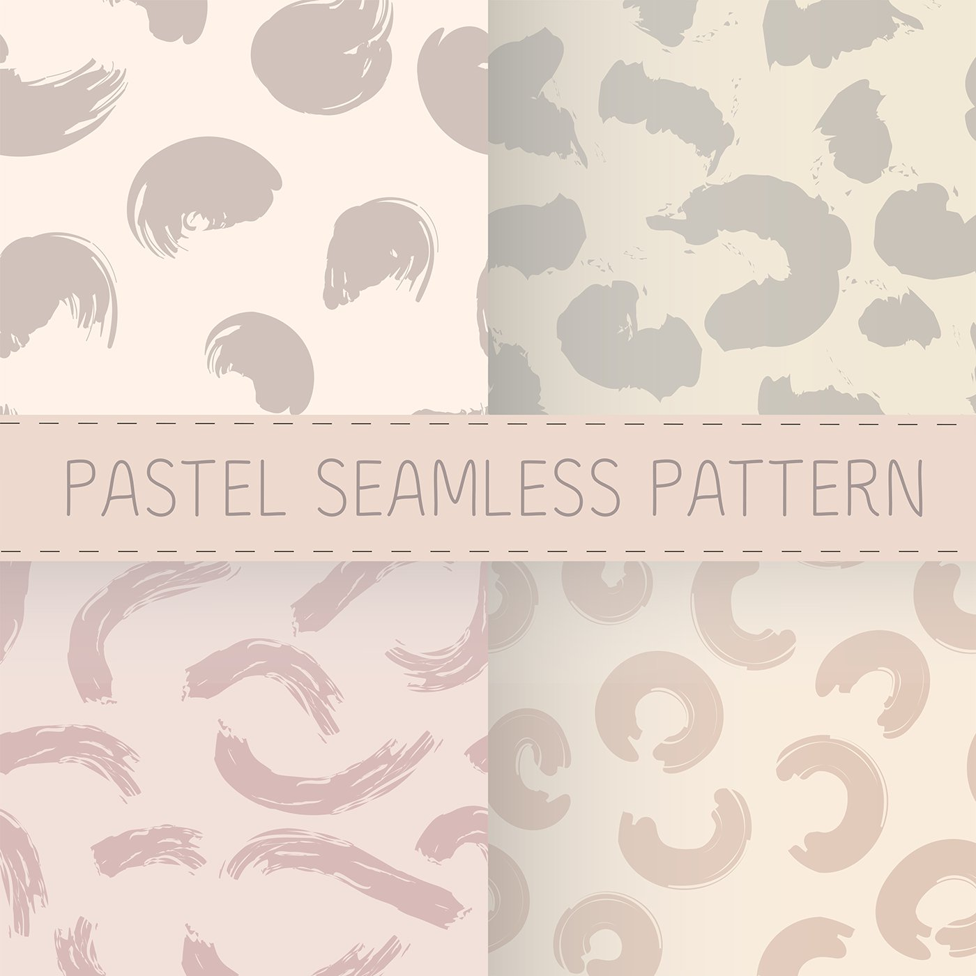 Pastel seamless pattern ai скачать