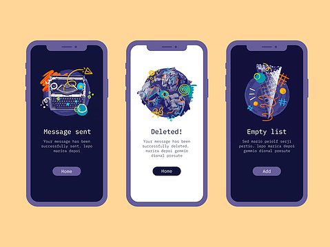 Free Poke Illustrations PSD