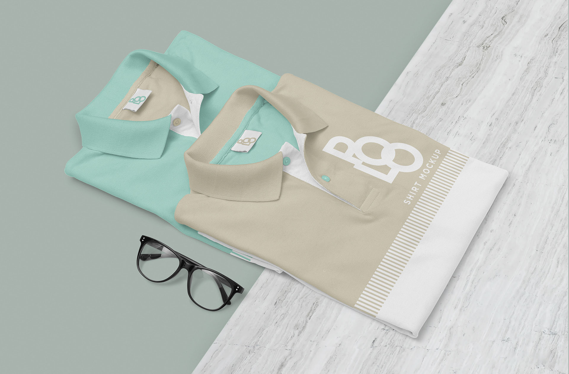 Free Stylish Polo Shirt Mockup PSD скачать бесплатно