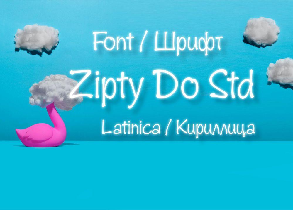 Шрифт Zipty Do Std Cyrillic