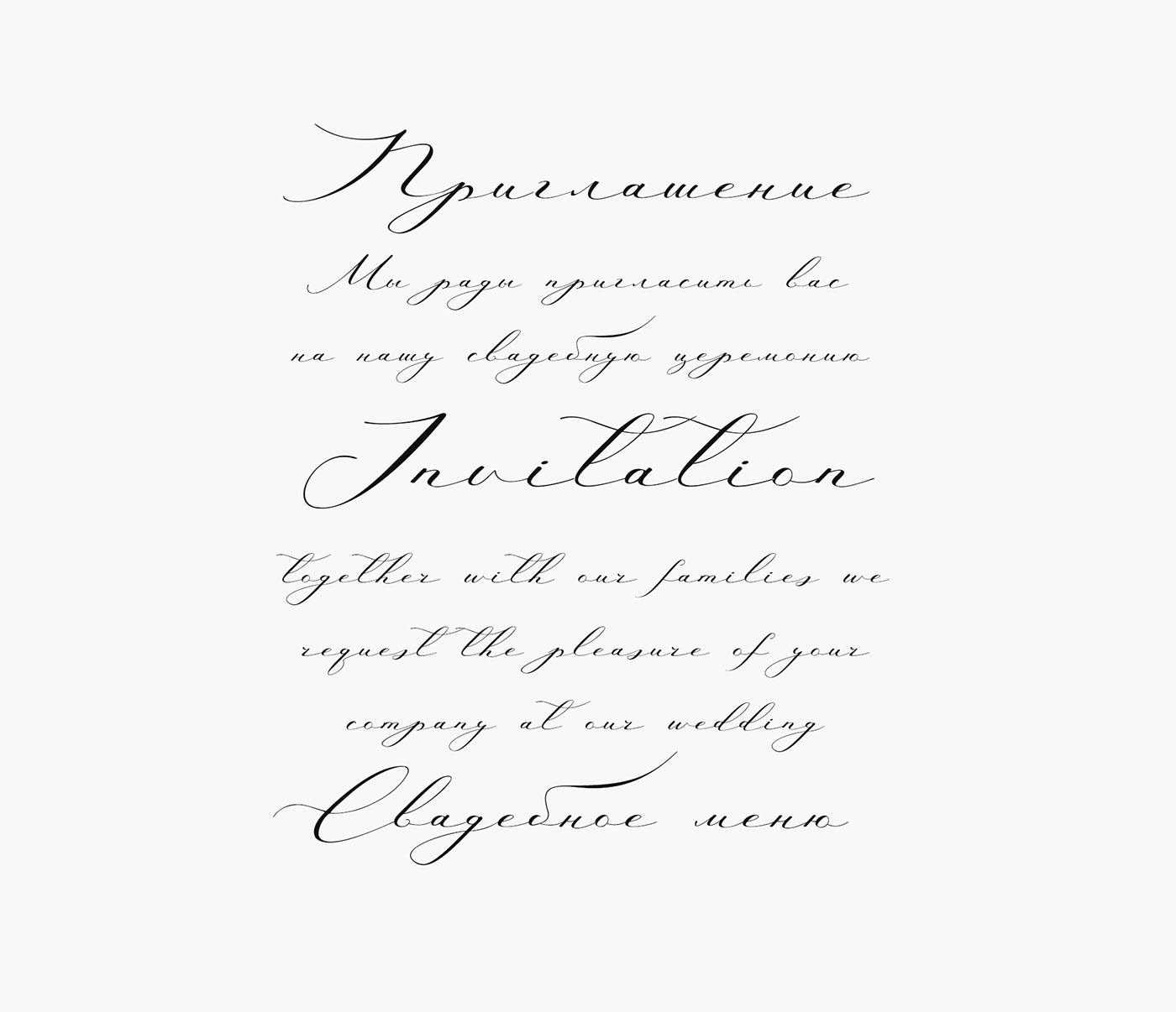 Шрифт Antarctic Cyrillic