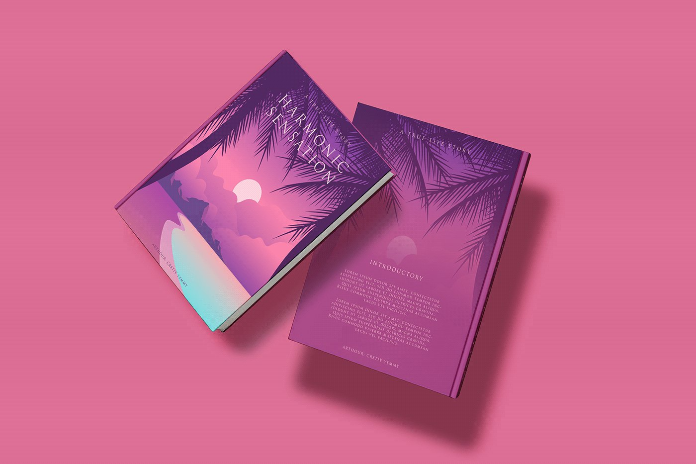 Book Cover Mockups PSD