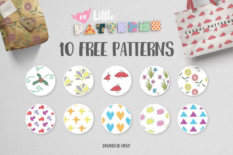 10 Free My Little Patterns скачать бесплатно