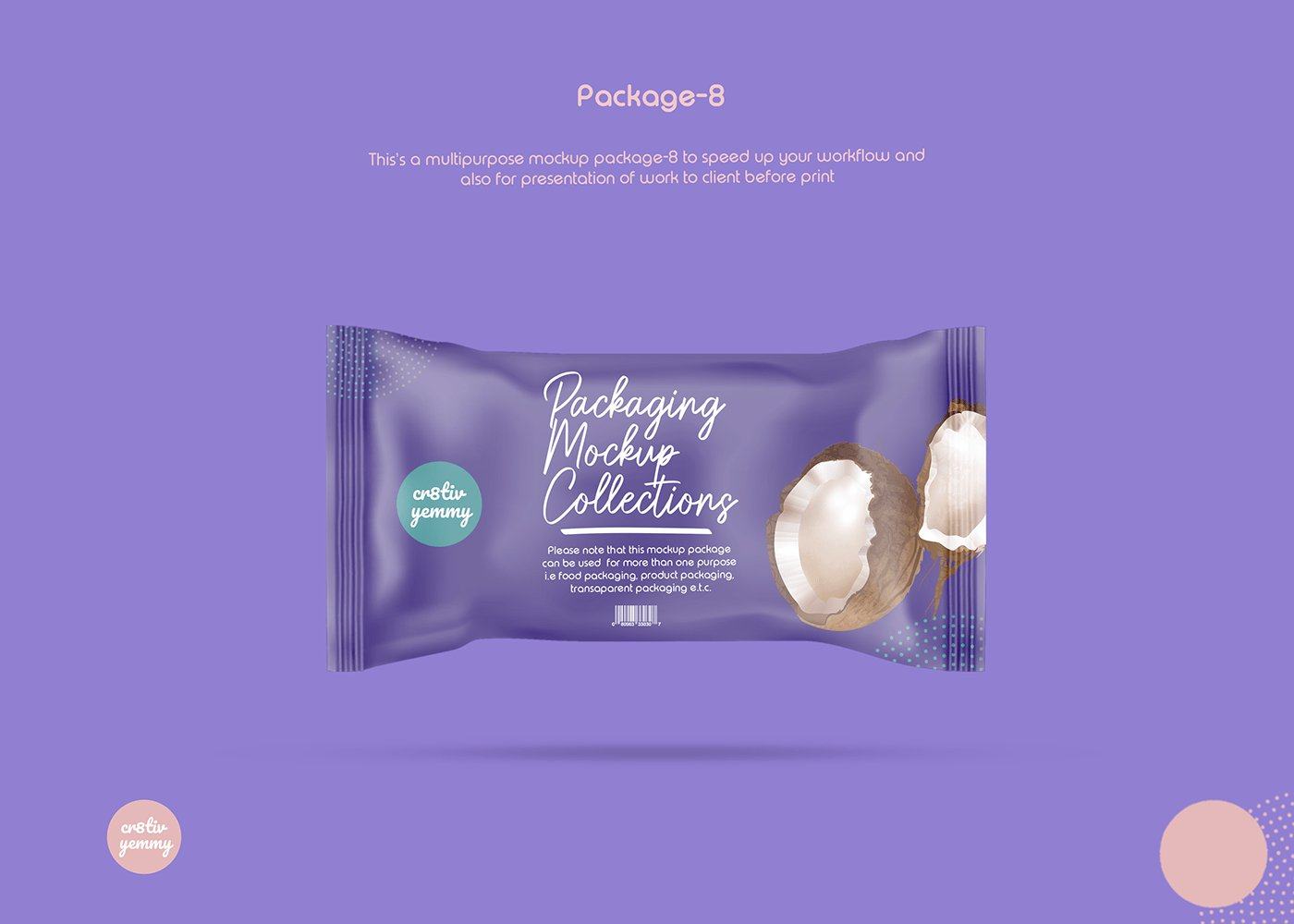 Free Food Packaging Mockup Collections