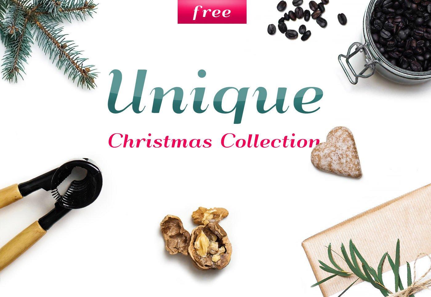 Free PSD Christmas Mockups Collection
