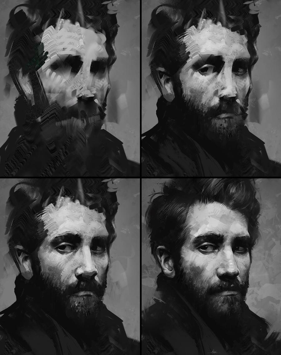 Free Oil Photoshop Brushes Aaron Griffin
