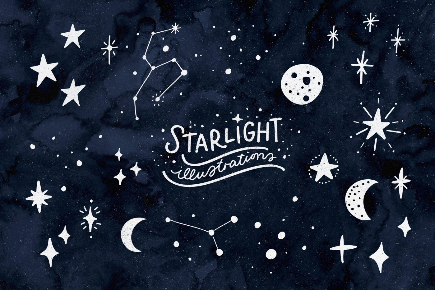 28 FREE STARLIGHT ILLUSTRATIONS