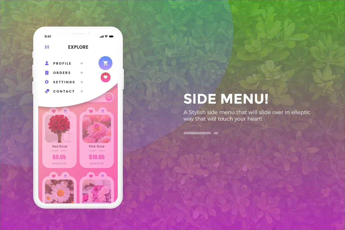 Free Shopping APP Design by Adobe XD