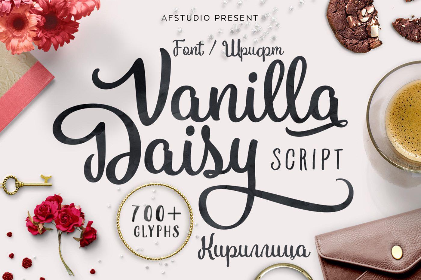 Шрифт Vanilla Daisy Cyrillic