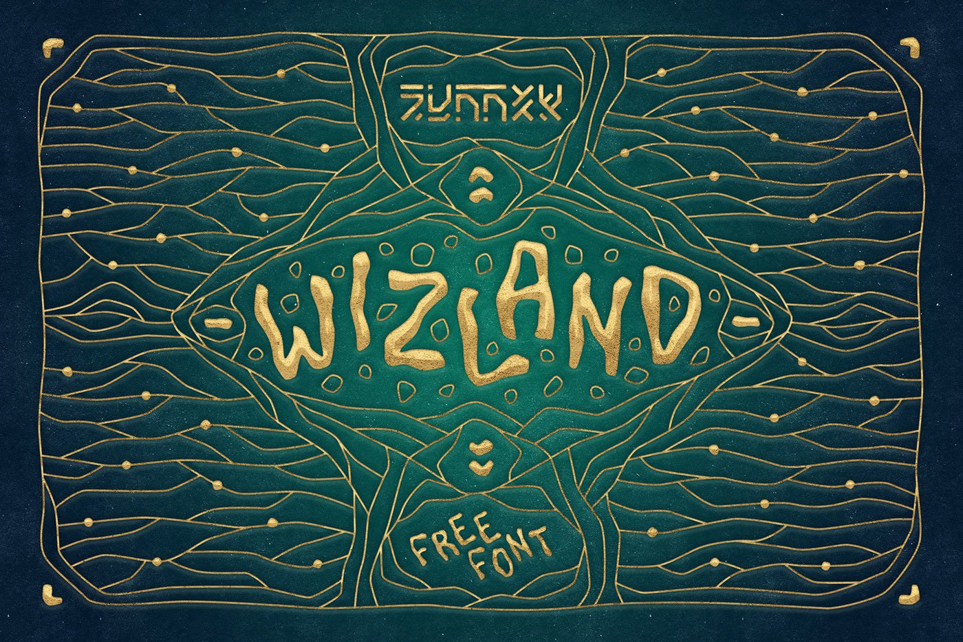 Шрифт Wizland Cyrillic